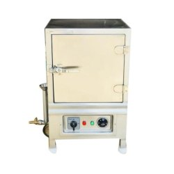 Stainless Steel Electric Induction Idli Steamer, For Commercial, 220 V