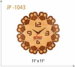 Designer Wooden Wall Clock, Model Name/Number: 001