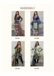 Rani Trendz Heavy Silk Crepe Pakistani Suit