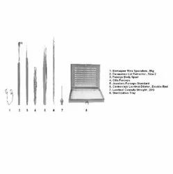 Foreign Body Removal Ophthalmic Surgical Instruments Set