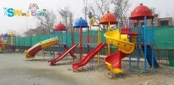 YK-22 Zig Zag Castle Multi Play Station For Park And School Garden