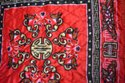 Red Pooja Aasan in Velvet for puja and Meditation, Mattress Met