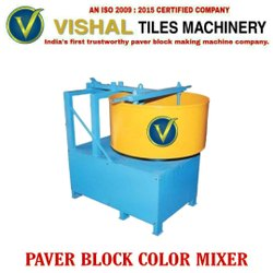 Electric Paver Block Color Mixer