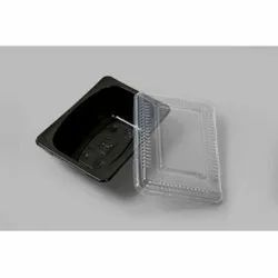 750ml Black Tray With Lid