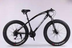 Fire Trek Black Jaguar Fat Tyre Cycle