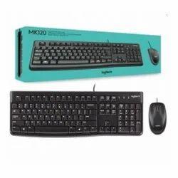 MK120 Logitech USB Keyboard And Mouse Combo