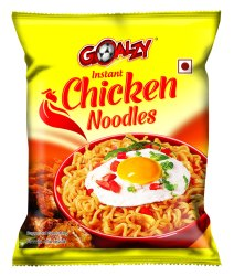 Wheat Flour Goalzy Instant Noodles Chicken, Packaging Size: 35