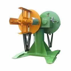 Double Head Decoiler Short Shaft For Narrow Strip Metal Coil