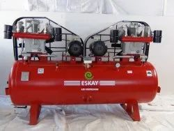Eskay AC Three Phase 20 HP Twin Air Compressor