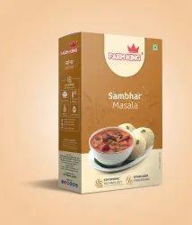 Farm King 100gm Sambhar Masala, Packaging Size: 50 g, Packaging Type: Box