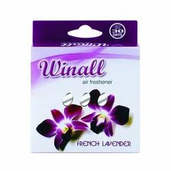 Solid French Lavender Toilet Air Fresheners 50g, For Bathroom, Box