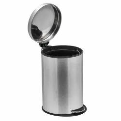 Fortune Blu Stainless Steel Peddle Dustbin (capacity 11 Ltr )
