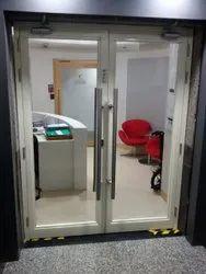 Metal Glazed Doors, For Office