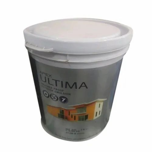 High Gloss Apex Ultima Emulsion Paints, For Interior & Exterior, Packaging Size: 20 Ltr