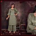 Ready-made Fancy Disigner  Kurtis With Paint