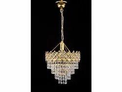 Glass Hanging LED Crystal Chandelier