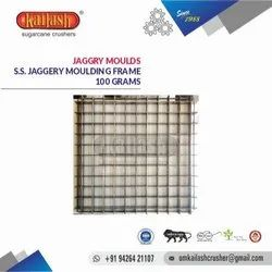 OM KAILASH STAINLESS STEEL JAGGERY MOULDS 100 GRAMS