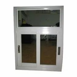 Modern Silver Japani Sheet Door Window, Size/Dimension: 2x3 Feet