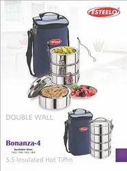 Stainless Steel Insulated Hot Tiffin