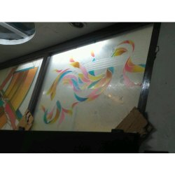 Printed Toughened Glass, Thickness: 5 Mm, Shape: Flat