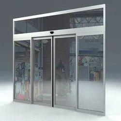 Closet Doors Glass Automatic Sliding Door, For Office, Interior