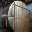 Single Station Bi Axial Rotational Moulding Machine