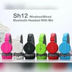 SH12 Bluetooth Headphones