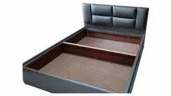 Sheesham Modern Single Wooden Bed, Size: 7x5 Feet