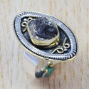 925 Sterling Silver Jewelry Harkimar Diamond Ring SJWR-390
