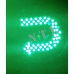 U-Turn Green LED Traffic Signal Light