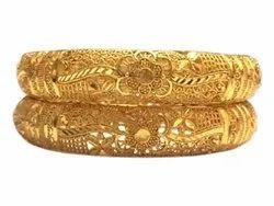 Ladies Artificial Brass Bangles Set