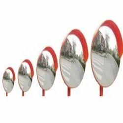 Polycarbonate Convex Mirror - (45/60/80/100 Cm)