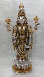Silver Plated Balaji Idol