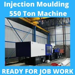 24 Hrs Plastic Moulding Injection Molding Job Work Service 550 Ton, Indore, 2.2 Kgs