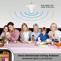 Indoor 4G LTE Ceiling Mount Omni Directional Antenna 2-4 dBi with 15CM Cable N Female Connector
