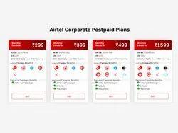 18 % GST Airtel Postpaid Connections