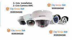Bullet Camera, Dome Camera CCTV Installation Services In Gurgaon