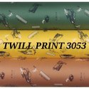 Twill Print Shirt Fabric