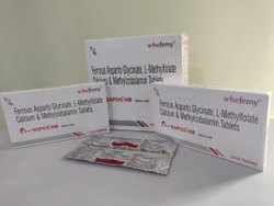 Ferrous Asprato Glycinate 100mg+l-methylfolate Calcium 300mcg+methylecobalamin 500mcg Tablets