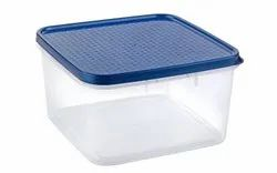 Plastic Square Container - 4700 ml