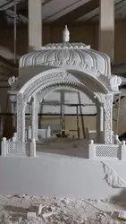 White Marble Palki Sahib
