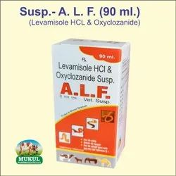 Syrup Levamisole HCL And Oxyclozanide Susp