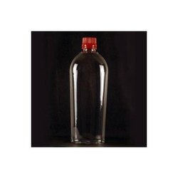 500 ml PET Flat Bottle With 28 mm PP Cap Code-185