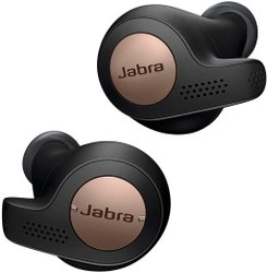 Jabra Elite Active 65t Alexa Enabled True Wireless Sports Earbuds, 15 Hours Battery, Copper Black