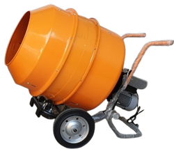 Electric Manual Mini Concrete Mixer 350 ltrs - Super Handy