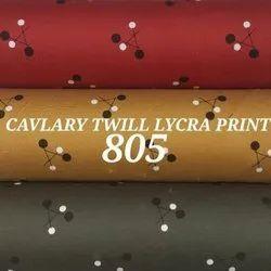 Twill Lycra Mens Shirt Fabric
