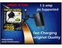 Jio Support Mobile Charger, Unik Icon