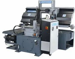 ITL-210-LMGA Double Column Automatic Horizontal Band Saw Machine