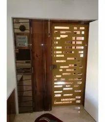 Stainless Steel Door Design Service