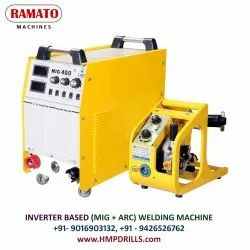 Automatic Three Phase MIG/ARC 400 Inverter Welding Machine